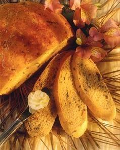 Итальянский травяной хлеб