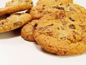 Шоколадные печенья без сахара