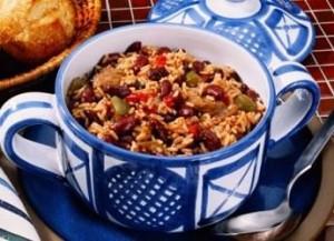 Рецепт испанского риса с бобами