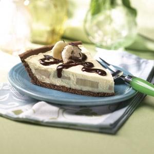 Шоколадный банановый пирог