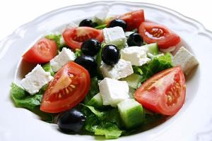Вкусный греческий салат