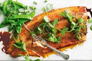 Запеченный лосось по-азиатски