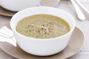 Картофельный суп с брокколи