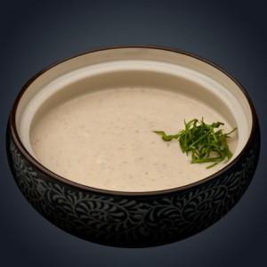 Крем-суп из диких грибов