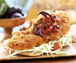 Легкие бутерброды с рыбой