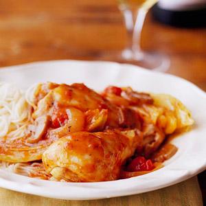 Легкий итальянский цыпленок