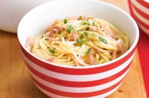Нежирное спагетти