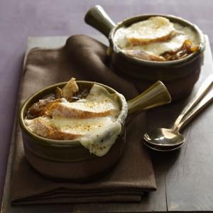 Легкий французский луковый суп