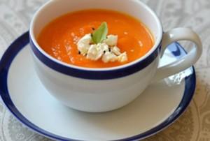 Морковный диетический суп