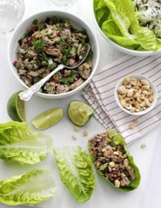 Салат со свининой