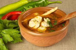 Сельский томатный суп