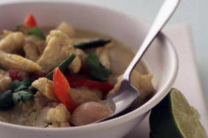 Тайское овощное карри