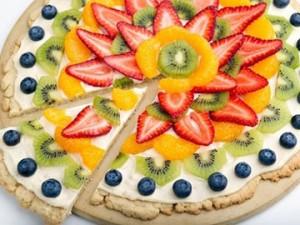 Фантастическая фруктовая пицца