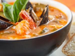 Пикантное рагу из морепродуктов