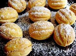 Печенье орешки со сгущёнкой