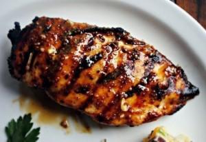 Курица гриль в горчичном соусе