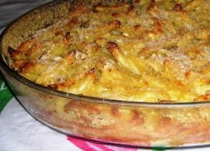 Запеченное спагетти