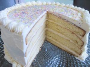 Ромовый торт