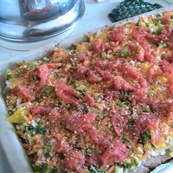Легкая вегетарианская пицца