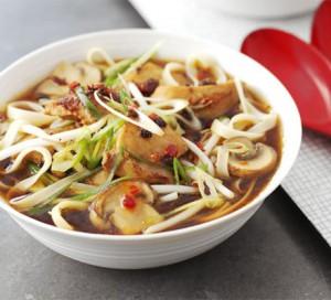Легкий суп из цыпленка с лапшой