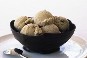 Ромовое мороженое с изюмом