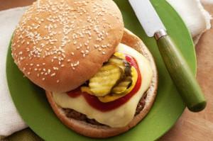 Гамбургеры с говядиной