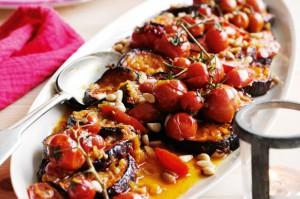 Баклажаны с помидорами по-марракешски