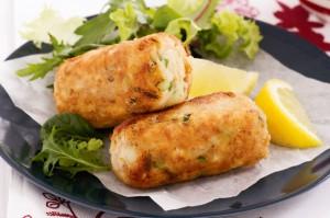 Картофельные крокеты с тунцом