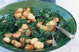 Картофельный вегетарианский салат