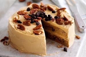 Кофейный монастырский пирог – кулинарный рецепт