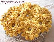 Печенье Кольца с орехами