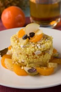 салат рисовый пикантный